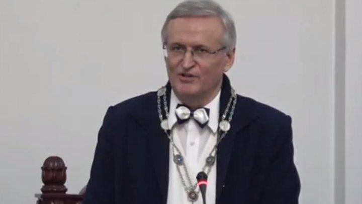 Ion Tighineanu, noul președinte al Academiei de Științe a Moldovei. Ce MESAJ i-a transmis Pavel Filip