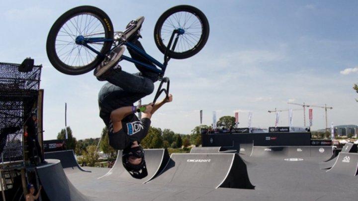 Festivalul Internaţional al Sporturilor Extreme. Hannah Roberts a câştigat concursul bicicletelor BMX