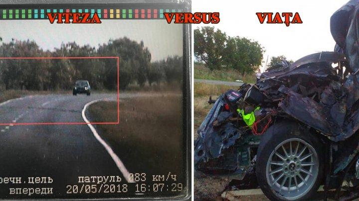 Ce este mai important: VITEZA sau FAMILIA. Câte persoane au decedat de la începutul anului din cauza vitezei excesive (FOTO)