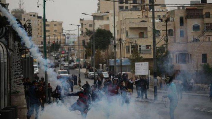 Fâşia Gaza a fost zguduită de confruntări ale palestinilor cu armata israeliană în această după amiază