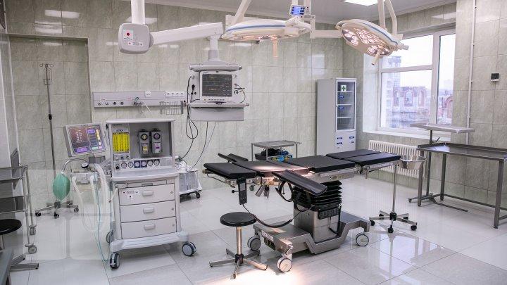 Blocul de operaţii al spitalului Sfântul Arhanghel Mihail din Capitală, dotat cu echipament medical performant (FOTOREPORT)