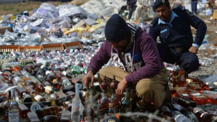 Contrabandă de 21 milioane dolari, distrusă în Pakistan. Unde urmau să ajungă produsele