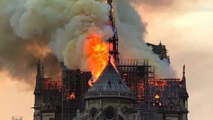 Incendiu la Notre-Dame: Irakul îşi exprimă solidaritatea cu Parisul