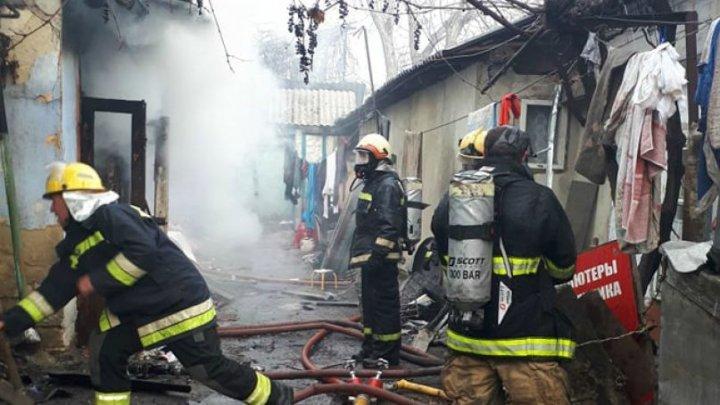 Un bărbat a murit într-un incendiu la Glodeni