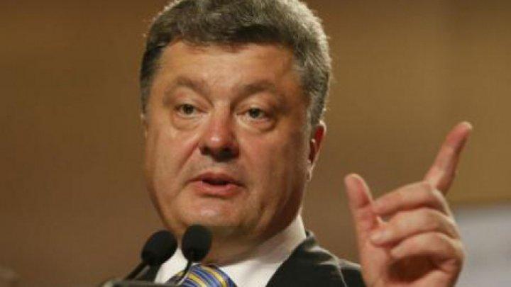 Petro Poroşenko către Volodimir Zelenski: Nu poţi avea încredere în Putin