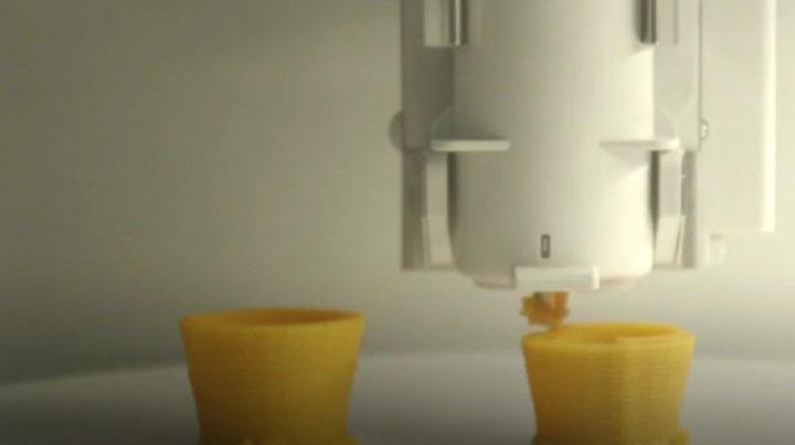 Tot mai multe companii lansează imprimante care pot face mâncare în orice formă