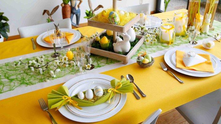 Cum aranjezi masa de Paște. Idei prin care îți poți impresiona invitații