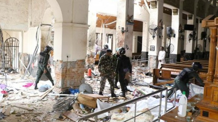 Atentate în Sri Lanka. Ministrul Apărării informează că atacul a fost un răspuns la atentatul din Noua Zeelandă