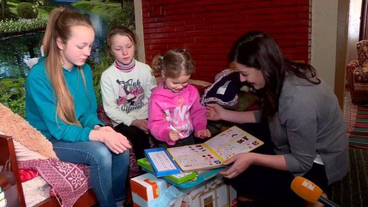 Fundaţia lui Vlad Plahotniuc a dat start campaniei de Paște. Care familie a fost surprinsă cu daruri