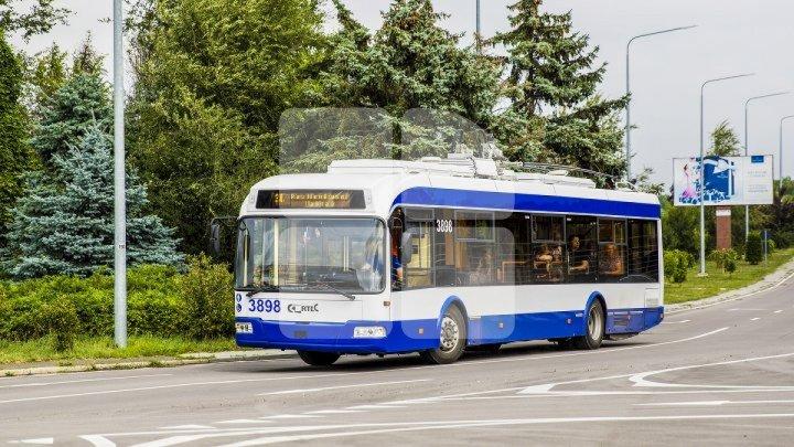 Circulația transportului public pe anumite străzi va fi modificată
