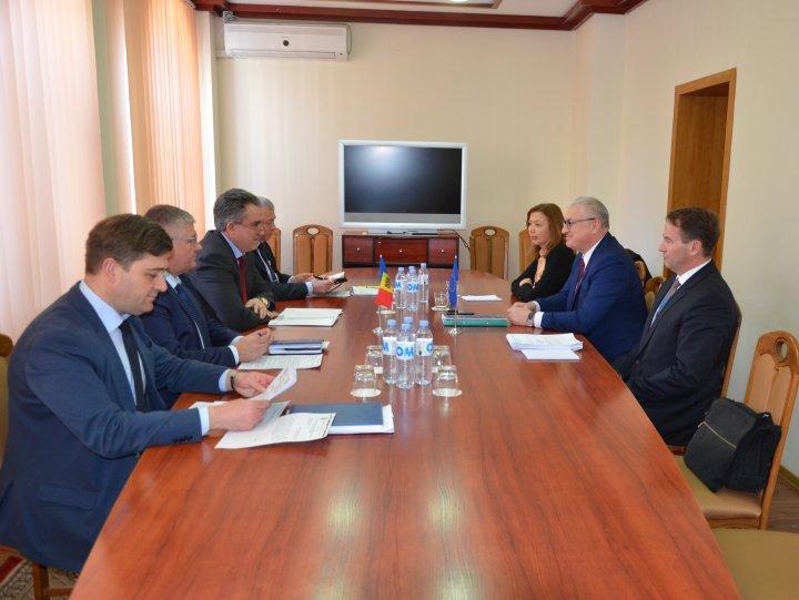 Vitalie Vrabie, la întrevederea cu șeful EUBAM: Suntem pregătiţi să efectuăm controlul comun în orice punct vamal