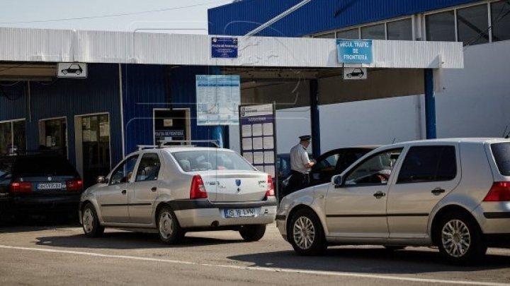 Situaţia la frontieră, în ultimele 24 de ore: Trei persoane în conflict cu legea, reținute la vamă
