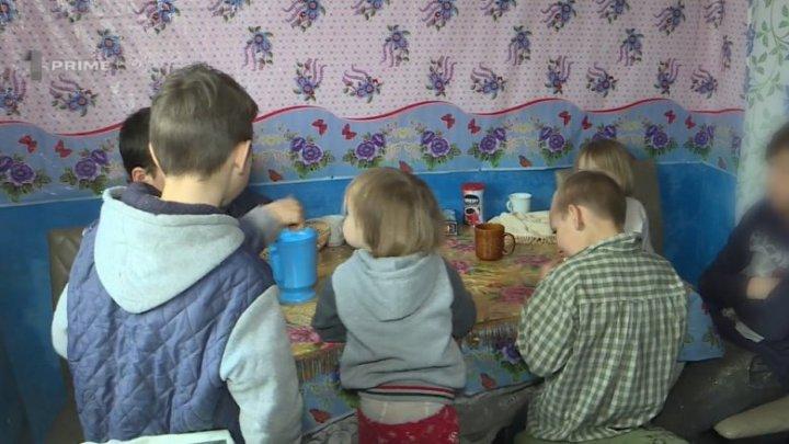 Vorbește Moldova: Povestea Tamarei Cătănoi din satul Chircăiești care crește singură șapte copii