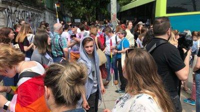 În PAS cu LGBT. Deputatul Dumitru Alaiba participă la marșul minorităților sexuale