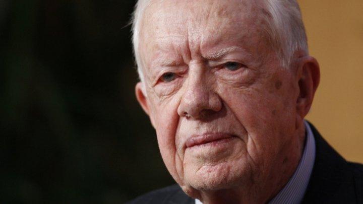 Jimmy Carter a fost internat în spital. Fostul preşedinte american va fi operat