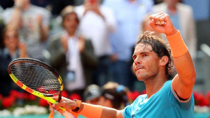 Jucătorul spaniol de tenis Rafael Nadal, în optimi la Madrid