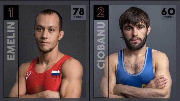 Luptătorul moldovean de stil greco-roman, Victor Ciobanu, este pe locul 2 în raitingul Mondial