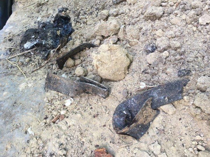 Un craniu de om şi câteva oase, găsite în spatele Ambasadei SUA din Capitală (FOTO)