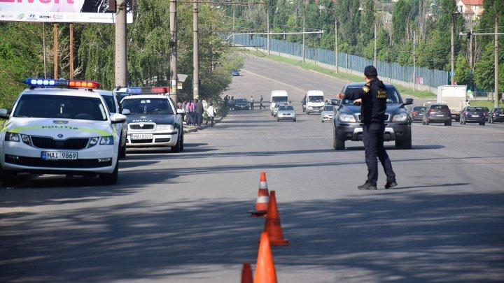 Radare pe șoseaua Hîncești: Peste 60 de citații oferite și 35 șoferi documențați de INP