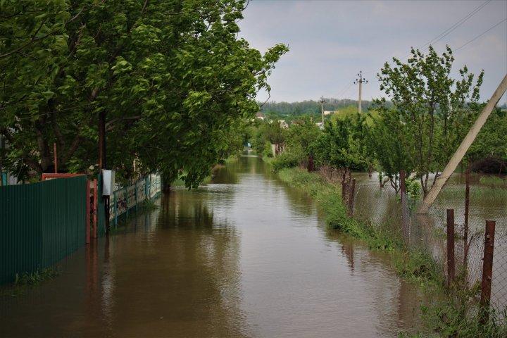 Ploaia face ravagii în nordul țării. Timp de 24 de ore, pompierii au intervenit în peste 20 de situaţii