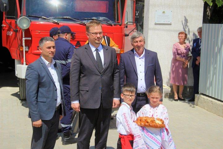 VESTE BUNĂ pentru locuitorii din Lozova. Un post de salvatori voluntari a fost inaugurat