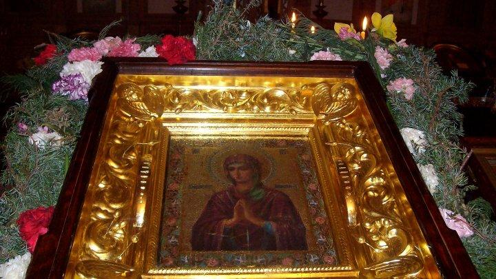 """Icoana făcătoare de minuni """"Îmblânzirea inimilor împietrite"""" va fi adusă la o mănăstire din Căușeni"""