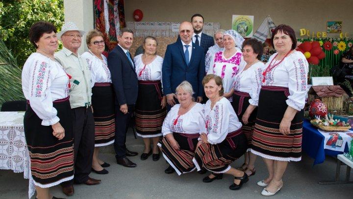 Pavel Filip, la Voinova și Sireți: Sunteți oameni gospodari, care țin la localitatea lor, la țara lor și aceste lucruri ne leagă