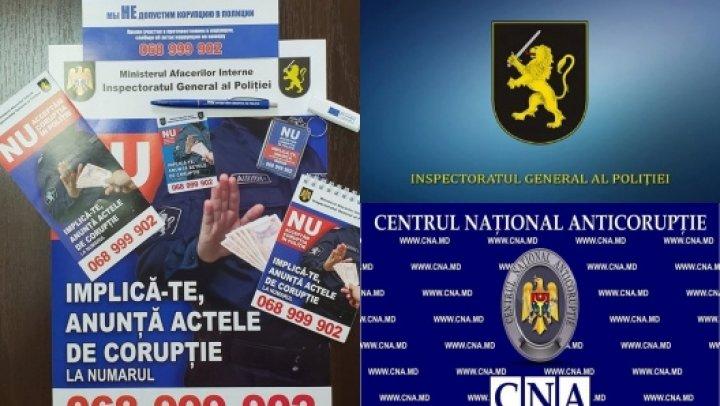 """IGP și CNA organizează instruiri anticorupţie pentru polițiști, în cadrul acţiunii """"Poliţişti integri-cetăţeni protejaţi"""""""