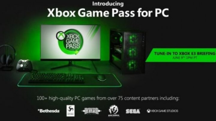 Microsoft aduce serviciul de subscripţie pentru jocuri Xbox Game Pass şi pe PC