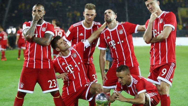 Bayern Munchen a cucerit pentru a 29-a oară, a şaptea oară consecutiv titlul în Campionatul Germaniei de fotbal