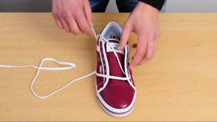 Încearcă şi tu! Moduri INEDITE de a-ţi lega şireturile la adidaşi (VIDEO)