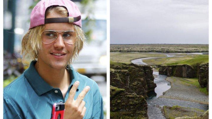 Justin Bieber a provocat închiderea unui canion în Islanda pentru filmările noului videoclip