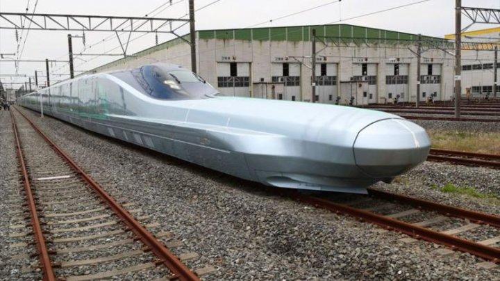 Cel mai rapid tren din lume a fost testat în Japonia. Ce viteză atinge