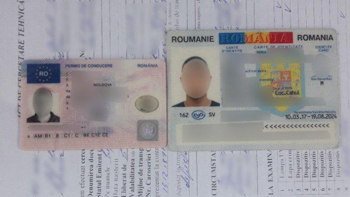 ACTE FALSE depistate la frontieră: Un moldovean a cumpărat buletin de identitate românesc cu 250 de EURO
