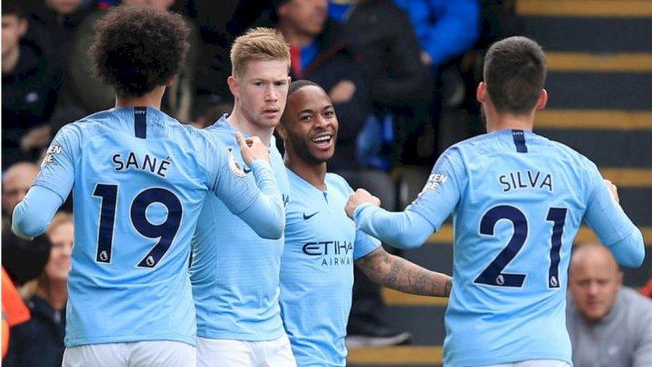 Manchester City este la un pas de a cuceri titlul de campioană a Angliei la fotbal