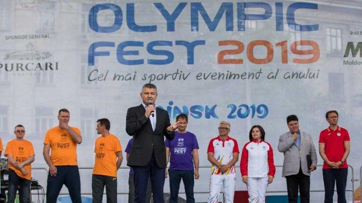 Candidatul Republicii Moldova la Premiul Nobel pentru Pace 2019, Ion Lazarenco, a participat la astăzi la Olympic Fest