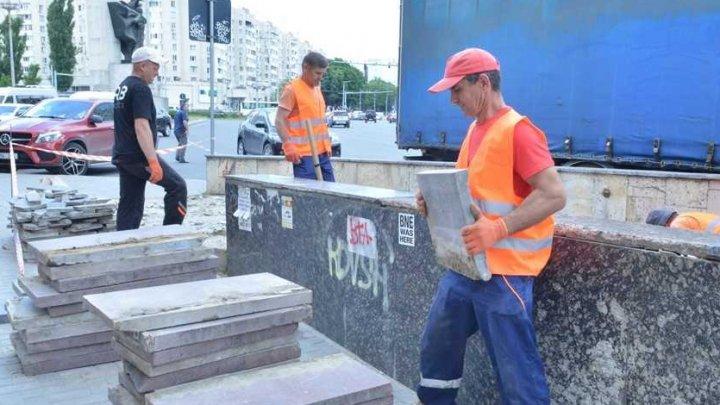 Au început lucrările de renovare a pasajului subteran de pe bulevardul Constantin Negruzzi din Capitală
