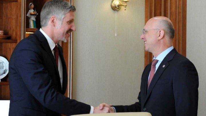 Republica Moldova și Letonia, interesate să dezvolte cooperarea în comerţ şi economie