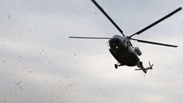 TRAGEDIE AVIATICĂ. Toţi membrii echipajului au murit, după ce un elicopter S-A PRĂBUŞIT în Ucraina