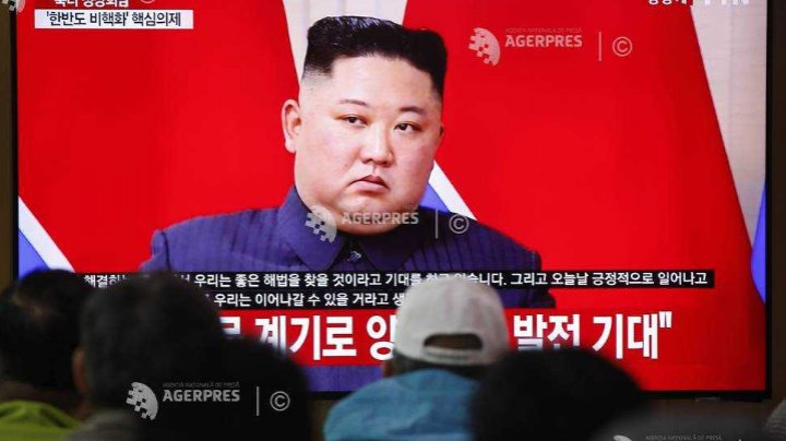 Liderul nord-coreean Kim Jong Un a supervizat tirurile cu mai multe rachete