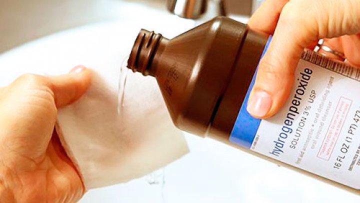 Peroxidul de hidrogen, unul dintre cele mai eficiente dezinfectante din lume