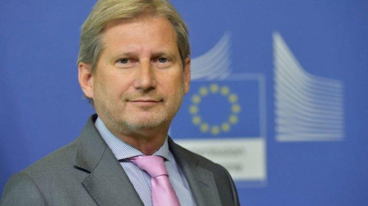 Comisarul European pentru Extindere, Johannes Hahn, vine la Chișinău