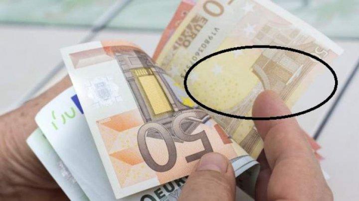 Secretul bancnotelor euro: Ce nu ştiai că este desenat pe aceşti bani