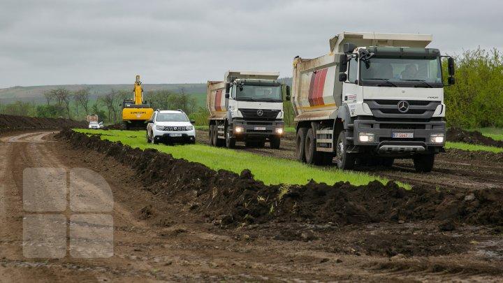 START construcției drumului de ocolire a orașului Comrat. Vezi când va fi dat în exploatare (FOTOREPORT)