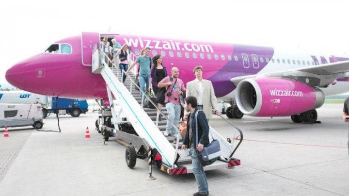 Bătaie în toată regula la bordul unui avion Wizz Air. Căpitanul a anulat aterizarea