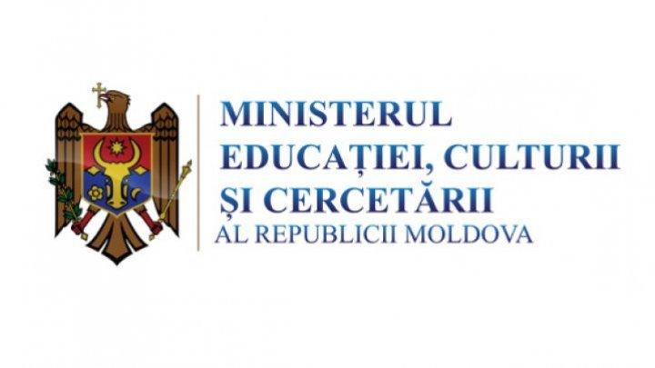 Ministerul Educaţiei: După anunțarea moratoriului, NU a fost stopată activitatea nici unei instituții de învățământ din țară