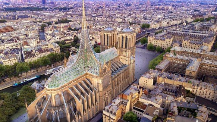 Catedrala Notre-Dame ar putea fi transformată într-un simbol al tehnologiei verzi