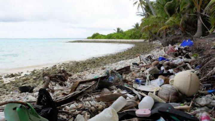 Insulile Cocos ale Australiei, împânzit de 414 milioane de bucăţi de plastic