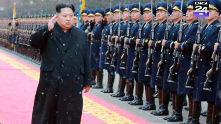 Coreea de Nord a lansat două proiectile, nişte rachete balistice cu rază scurtă de acţiune