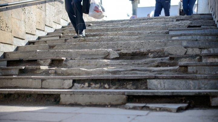 Un pasaj subteran din sectorul Botanica al Capitalei intră în reparație